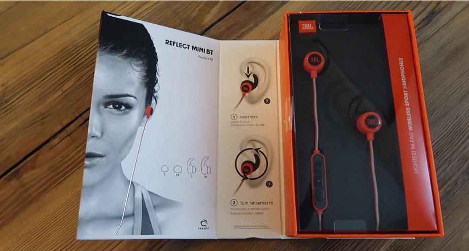 Test des écouteurs JBL Reflect Mini BT audio